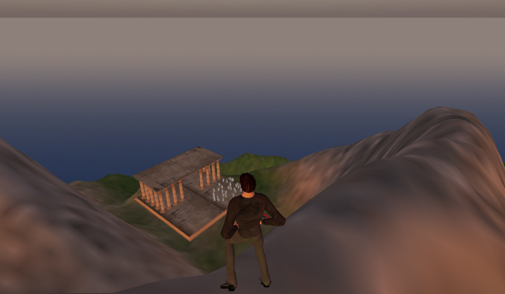 Amphitheater, Second Life.